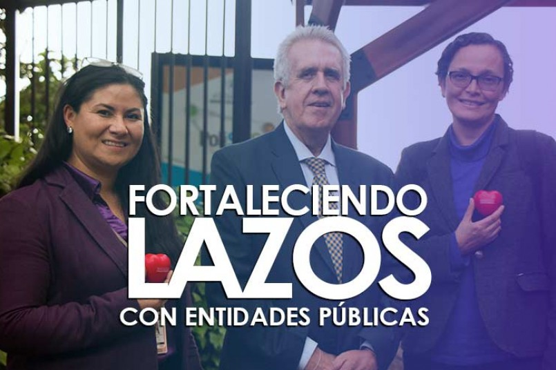 Fernando Dávila Ladrón de Guevara junto a la  Viceministra de eduacion , Natalia Ruíz Rodgers.