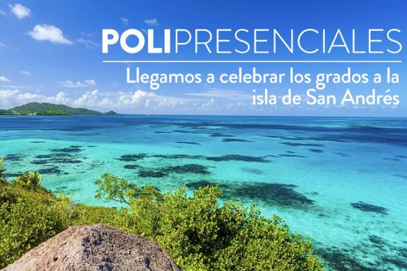 El Poli presente en los grados de San Andrés