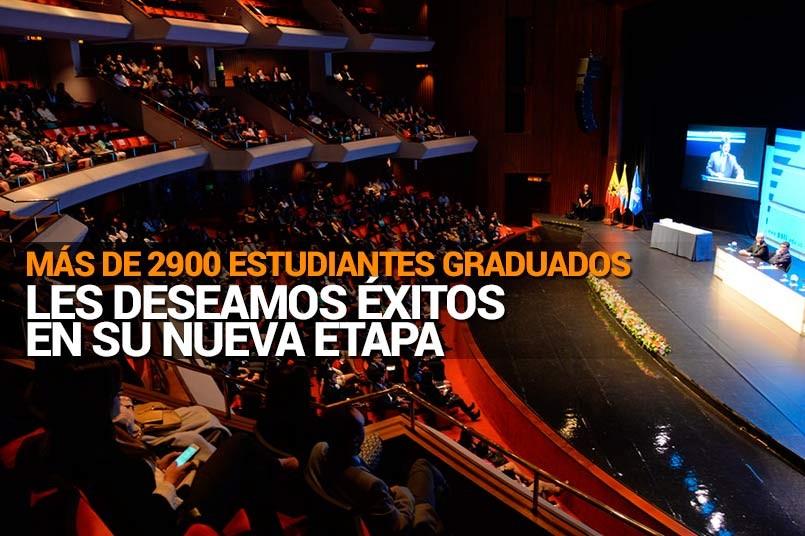 Ceremonia de grados 2015 -2