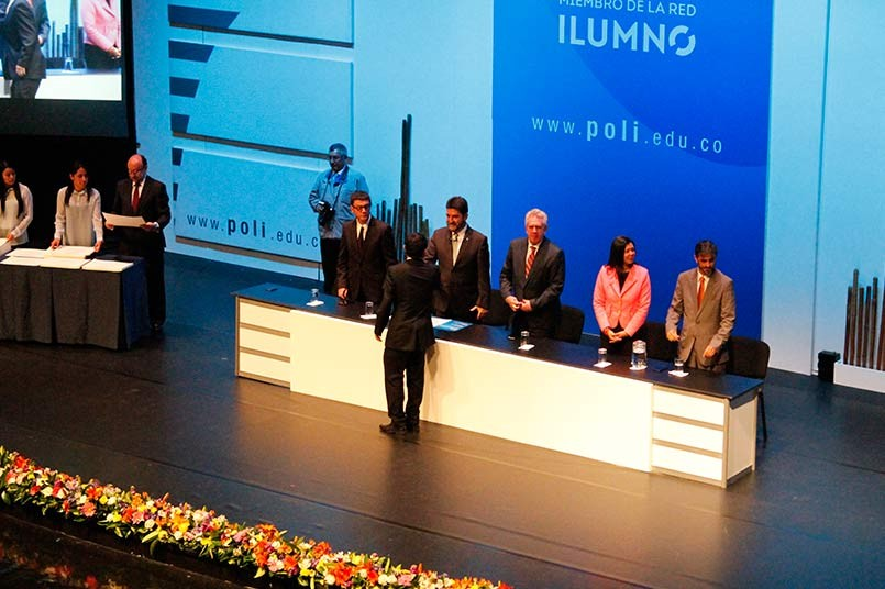 Ceremonia de grados Politécnico Grancolombiano 2015 -2