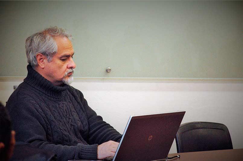 Docentes en capacitación - Hernán Astudillo