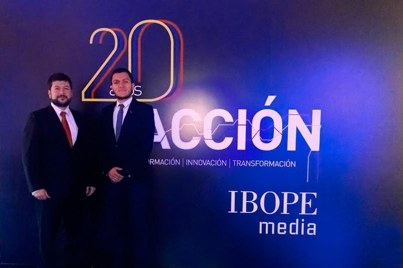 El Poli presente en la celebración de los 20 años de IBOPE