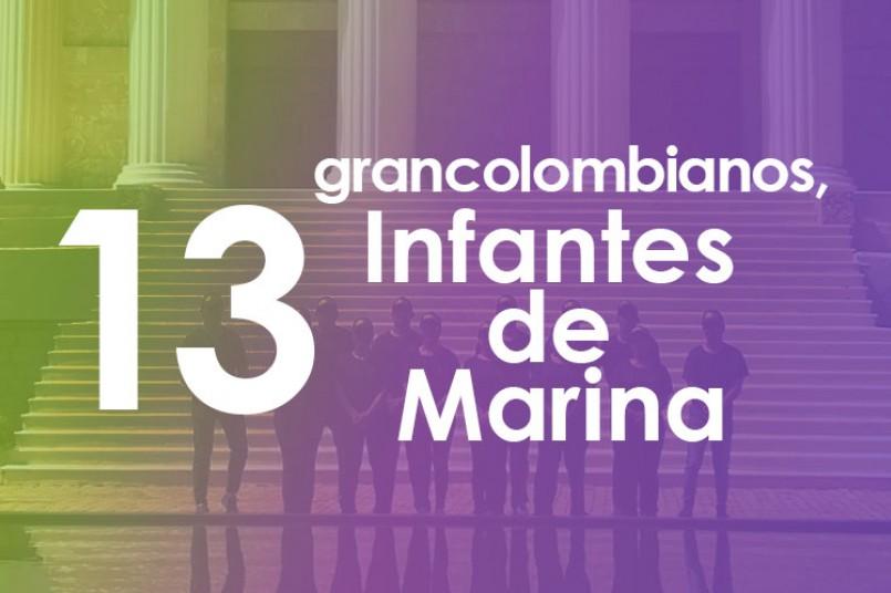 Grancolombianos, ¡guerreros del mar!