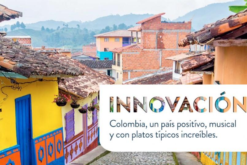 Colombia, un país positívo, musical y con platos típicos increíbles.