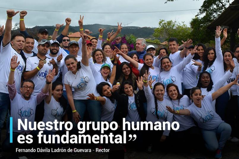 Nuestro grupo humano es fundamental