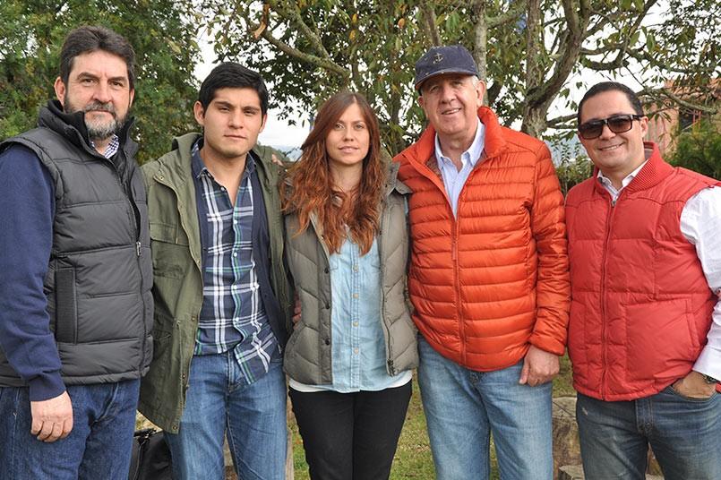 La familia grancolombiana se reunió en el restaurante El Tambor de Cajicá, para compartir del tradicional día de integración
