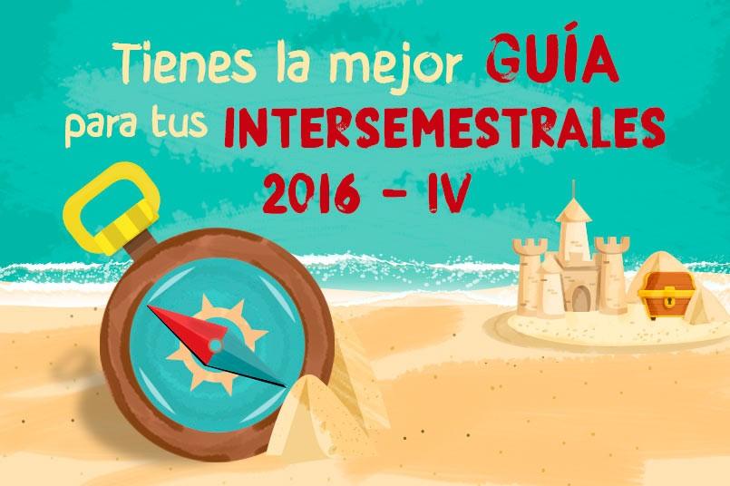 intersemestrales 2016-2