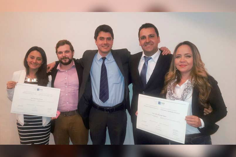 Entrega diplomas ISEP