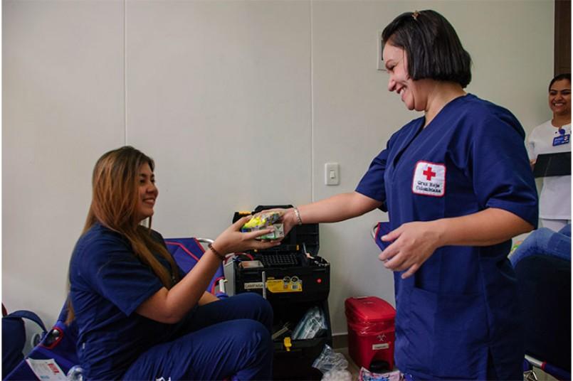 Salud para nuestros grancolombianos - Donación de Sangre