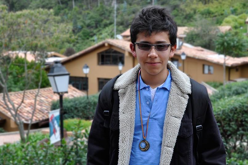 El ganador fue Roger Trujillo, estudiante del Instituto Técnico Central.