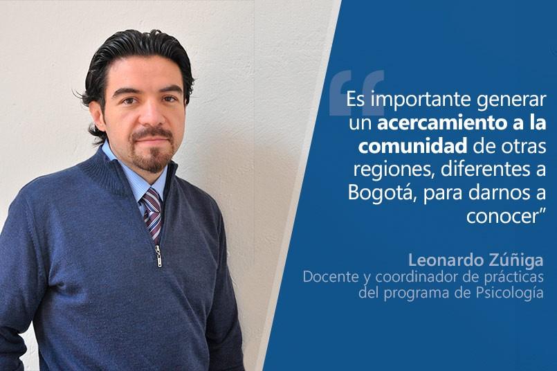 Coordinador de prácticas, Leonardo Zúñiga