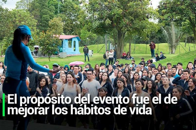 El propósito del evento fue el de mejorar los hábitos de vida y generar conciencia de la importancia del ejercicio.