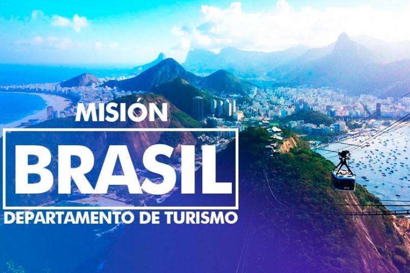 Misión Brasil para Departamento de Turismo