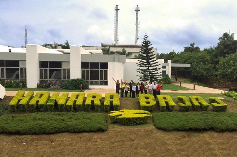 Visita de La Misión India a Hamara Bajaj en Pune