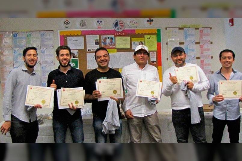 Misión de profesores grancolombianos a  Las Vegas