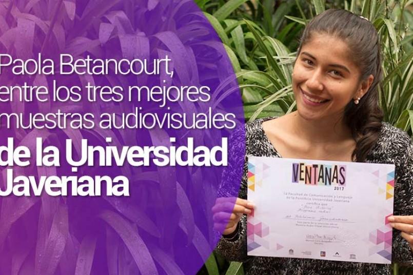 Paola Betancourt, estudiante del programa de Comunicación Social – Periodismo