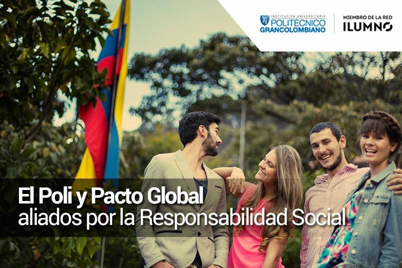 Programa de Responsabilidad Social Huella Grancolombiana, ahora es parte de Pacto Global