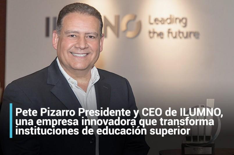 Pete Pizarro, Presidente y CEO de ILUMNO, galardonado como Empresario del año
