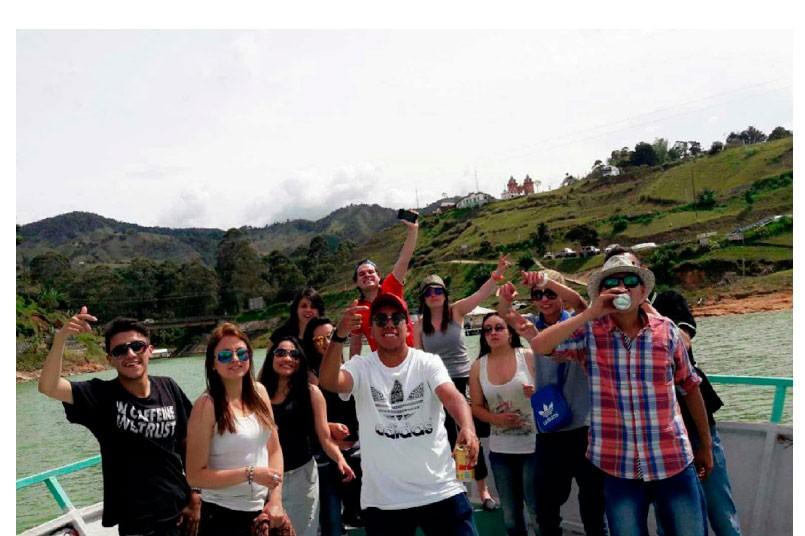Alumnos del Campus Principal visitaron el #PoliMedellín.