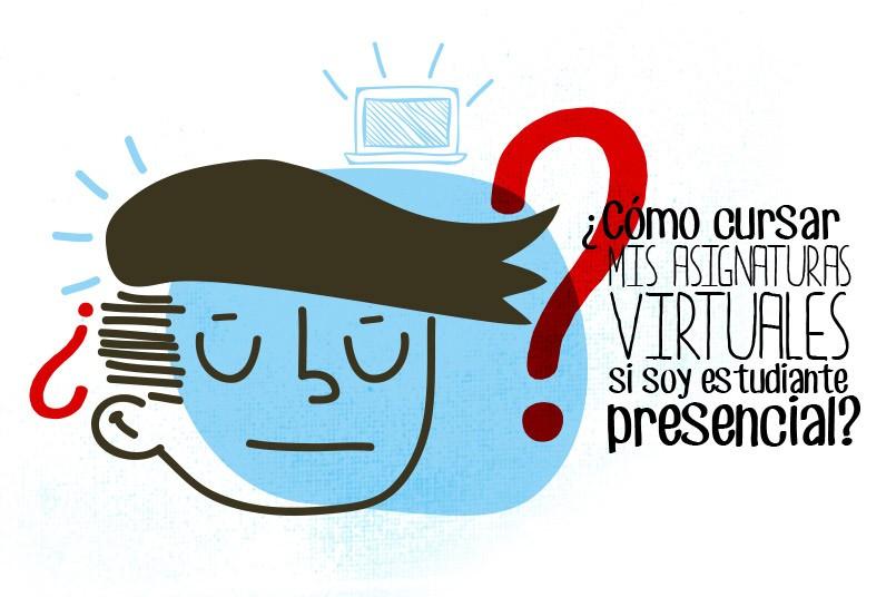 ¿Como cursar mis asignaturas virtuales?