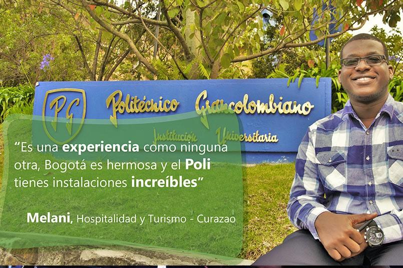 Dave - Estudiante de Hospitalidad y Turismo Curazao
