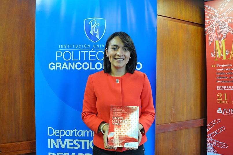 Sandra Rojas - Directora del Departamento de Investigación del Politécnico Grancolombiano.
