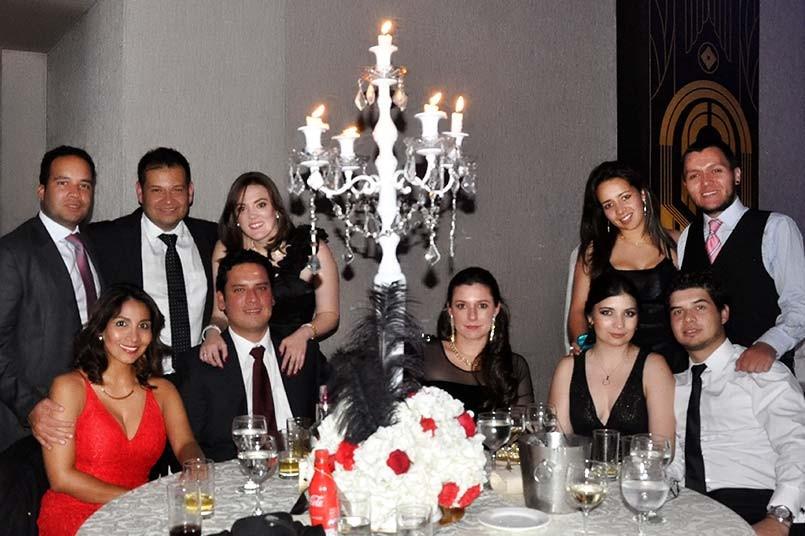 3ra fiesta de gala Huella Grancolombiana