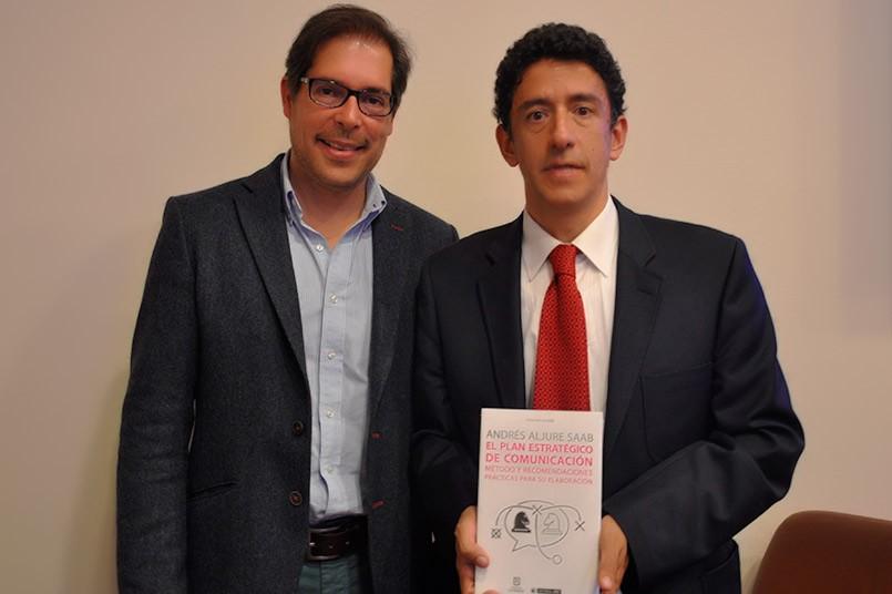 Andrés Aljure, consultor Comunicación Organizacional - Julián Hernández Director del Programa Comunicación Organizacional