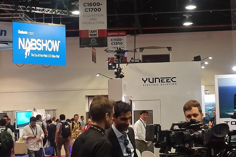 El NAB Show 2015 se llevó a cabo en el Centro de Convenciones de Las Vegas