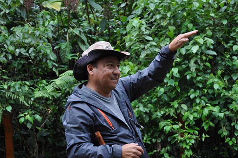 Miguel Garcés: el amigo de los forasteros que visitan el Huila