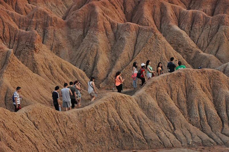 San Agustín y el Desierto de la Tatacoa fueron algunos de los lugares visitados por los estudiantes de Hotelería y Turismo