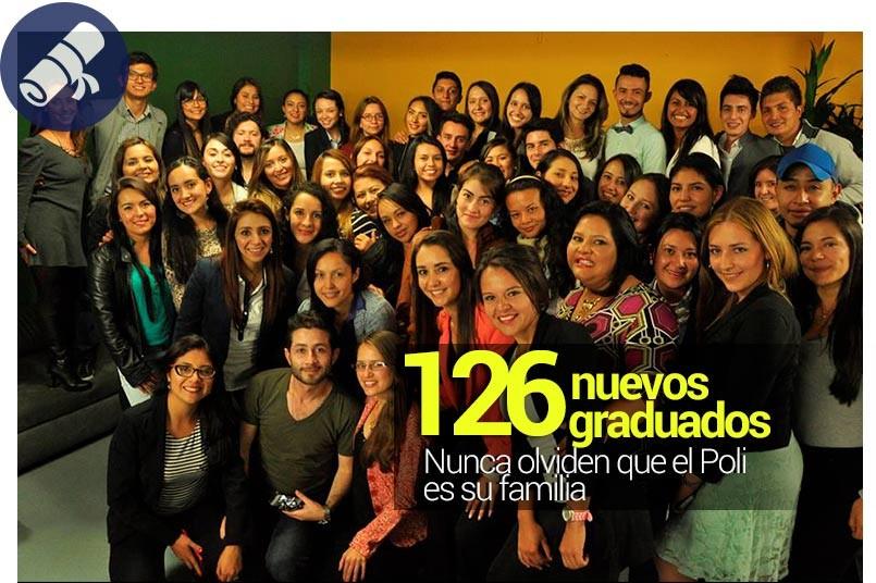 126 nuevos graduados