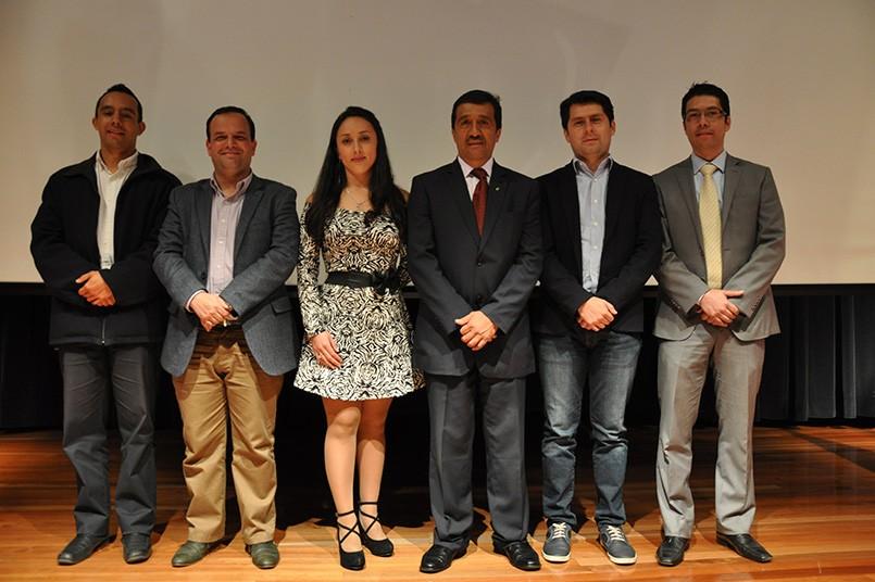 Óscar Robayo, Camilo Herrera, Ruth Cortés, Carlos Martínez, Leonardo Ortegón, Carlos Ramírez.