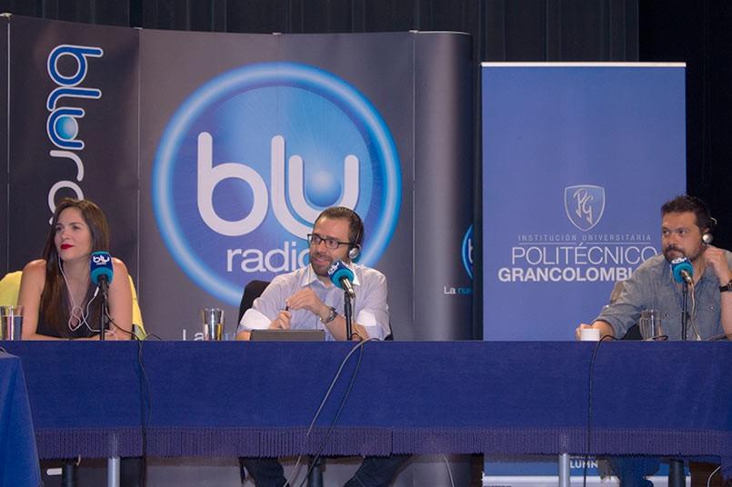 Voz Populi transmitió en vivo desde el el Auditorio Jaime Michelsen