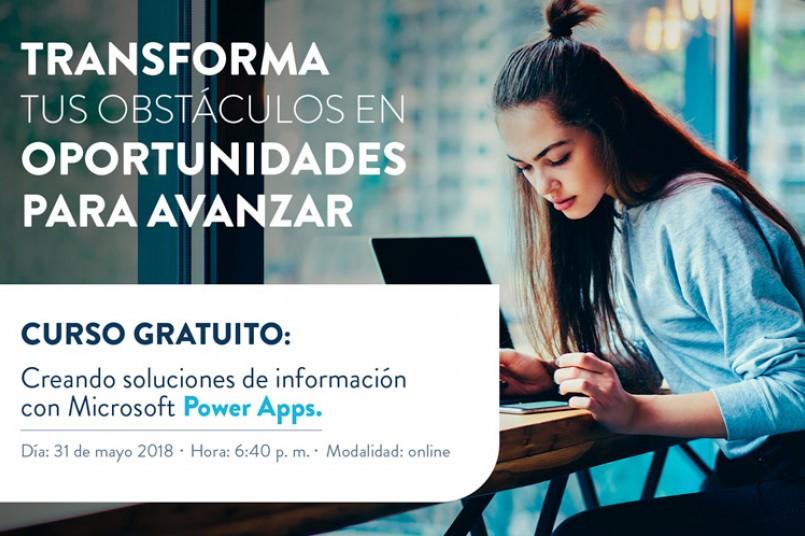 En este módulo entenderás el diseño de escenarios de negocios y administración de datos para la creación de aplicaciones con Microsoft PowerApps.