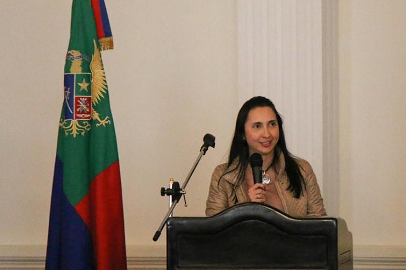 Profesora Sandra Chicas