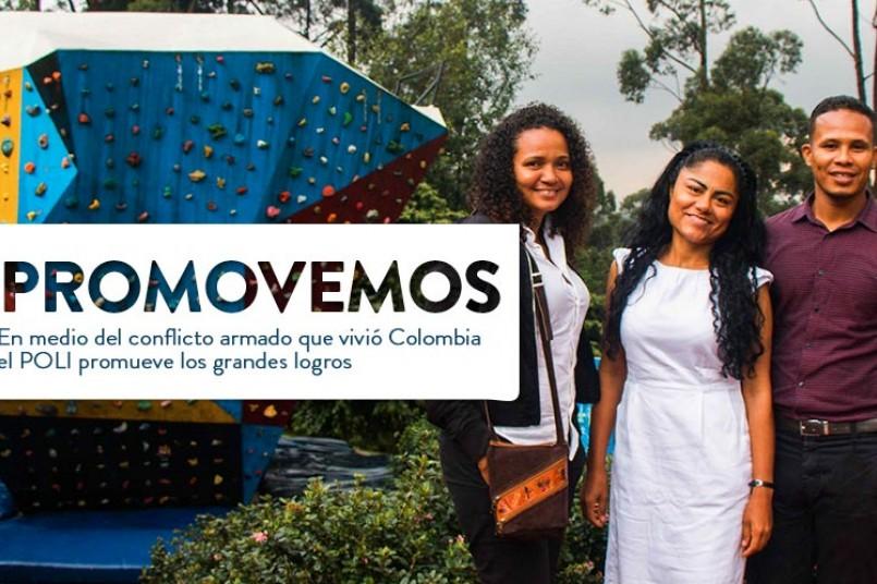 Grancolombianas invitadas de honor a los grados