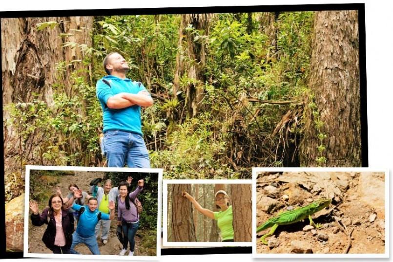 Docentes visitaron la Quebrada La Vieja
