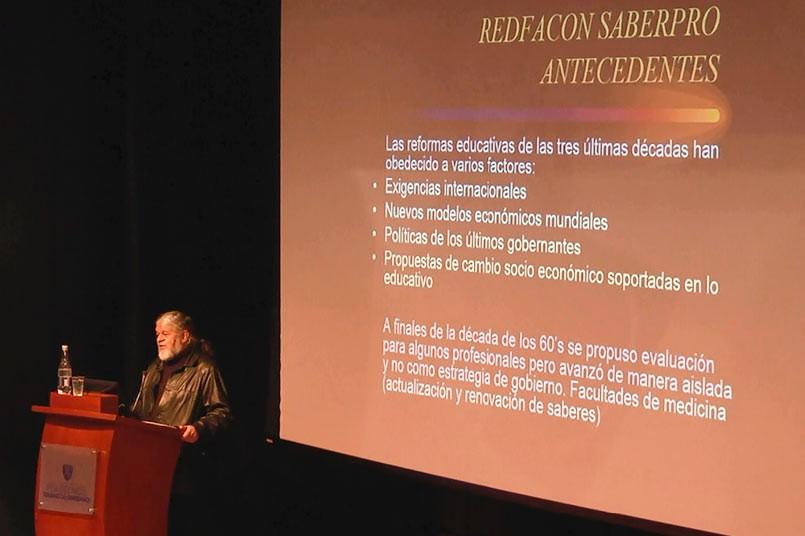 Rafael García, director Académico del Proyecto de Formulación Saber Pro