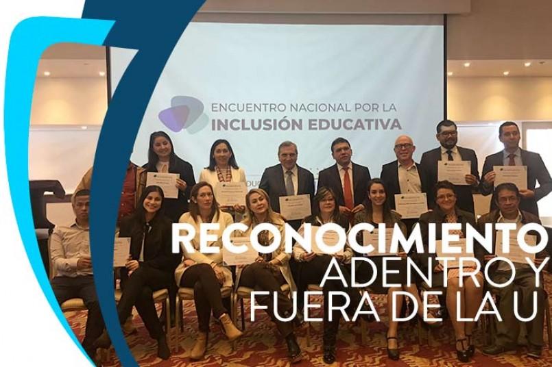 El reconocimiento obtenido refuerza el compromiso institucional de las acciones en las que se vienen trabajando dentro y fuera de la universidad