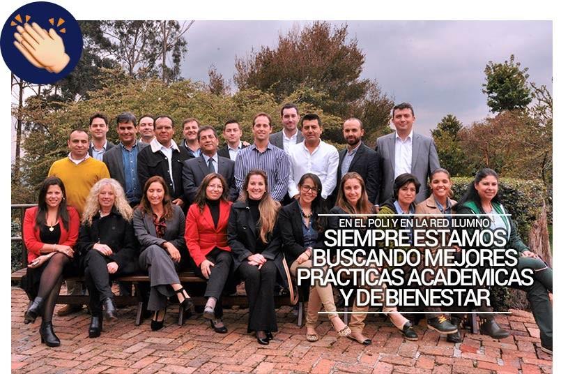 En el Campus del Poli se reunieron representantes de la Red Ilumno de Brasil, Argentina y Colombia.