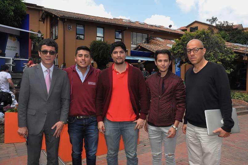 Billy Escobar (Secretario general del poli)Luis Miguel Pino, Guastavo Falla, Kevin Bernal(candidatos), Profesor Jalily Cobezdy.