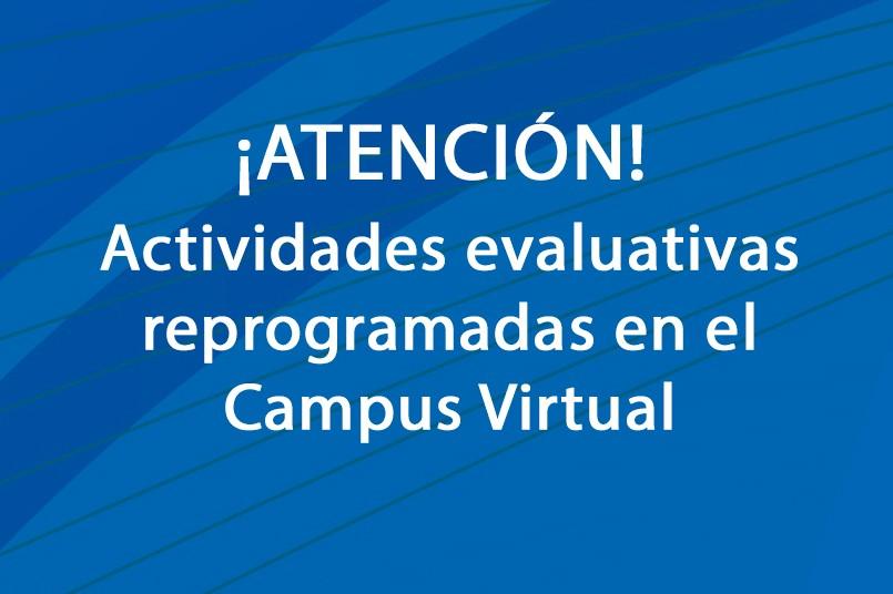 Intermitencias en el Campus Virtual