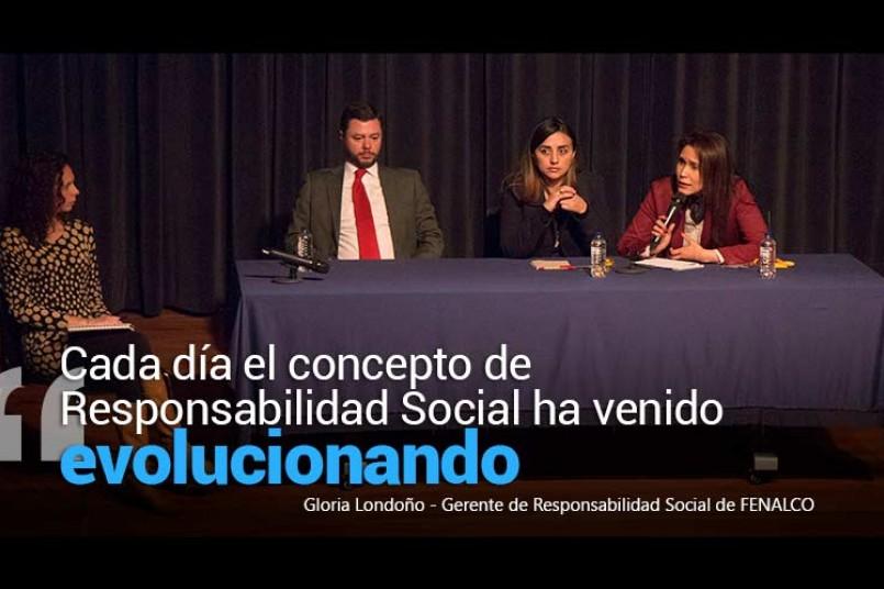 Gerente de Responsabilidad Social de FENALCO - Gloria Londoño