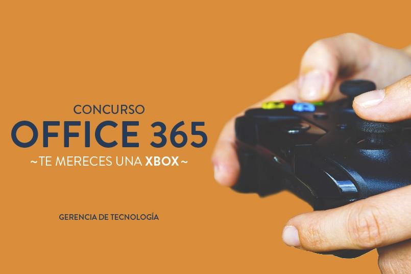 ¡Si usas Office365 este Xbox es para ti!