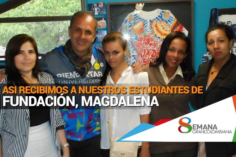 Estudiantes de Fundación, Magdalena.
