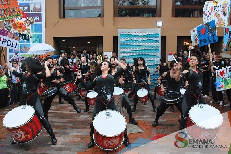Presentaciones culturales en la 8a. Semana Grancolombiana
