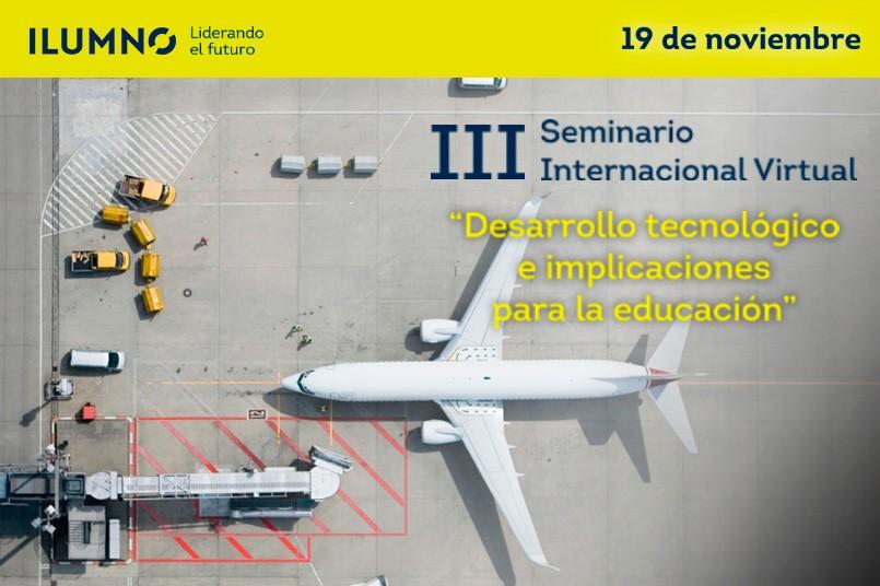 Participa en el seminario Internacional Virtual