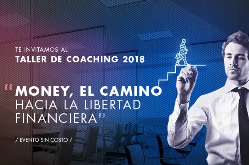 ¡Asiste a nuestro taller de Coaching!