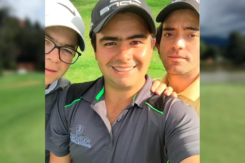 Grancolombiano se destacó en importante torneo de golf